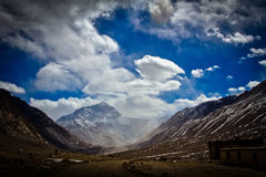 Mount Everest Base Camp Tibet Stock Photography