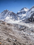 Mount Everest & Base Camp royalty free stock photos