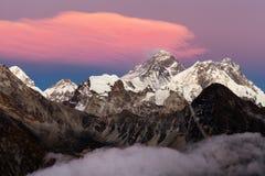 Free Mount Everest Lhotse Nepal Himalayas Mountains Sunset Royalty Free Stock Photo - 145881355