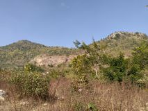 Mount Everest Pahad Hariyali stock photos
