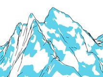Mount Everest, relief and height, mountains. 3d rendering stock video footage