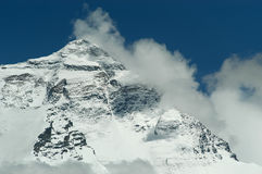 Mount Everest - Tibet royalty free stock photography