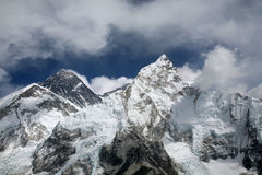 Mount Everest viewed from Kala Patthar Royalty Free Stock Image