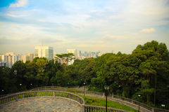 Mount Faber view. Royalty Free Stock Images