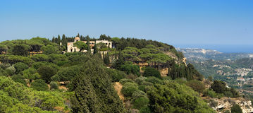 Mount Filerimos, Greece, Rhode Stock Image
