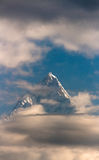 Mount Fishtail Royalty Free Stock Photography