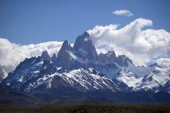 The mount Fitz-Roy. Fitz-Roy (el Chalten) in Patagonia, Argentina Stock Photo