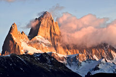 Mount Fitz Roy Royalty Free Stock Photos