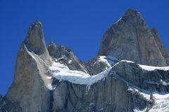 Mount Fitz Roy Argentina aka the smoking mountain Stock Image