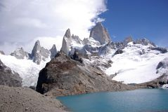 Mount Fitz Roy, Argentina Royalty Free Stock Photos