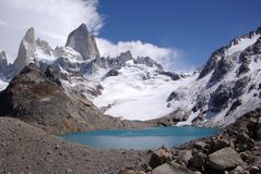 Mount Fitz Roy, Argentina Royalty Free Stock Photo