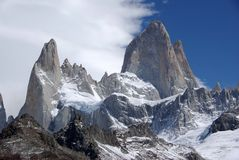 Mount Fitz Roy, Argentina Royalty Free Stock Photography