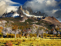 Mount Fitz Roy, Argentina Stock Photo