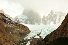 Mount Fitz Roy, El Chaltén, Argentina Royalty Free Stock Photos