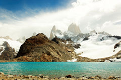 Mount Fitz Roy, El Chaltén, Argentina Stock Photo