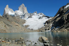 Mount Fitz Roy in El Chalten national park, Patagonia Stock Photo