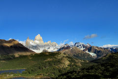 Mount Fitz Roy in El Chalten national park, Patagonia Royalty Free Stock Image