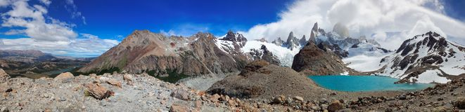 Mount Fitz Roy, El Chalten, Patagonia, Argentina. South America Stock Photos