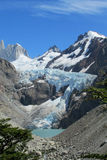 Mount Fitz Roy glacier royalty free stock photos
