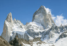 Mount Fitz Roy, Los Glaciares National Park, Patagonia Stock Photos