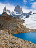 Mount Fitz Roy, Los Glaciares NP, Argentina Stock Photography