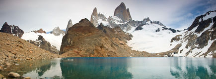 Mount Fitz Roy, Los Glaciares NP, Argentina Royalty Free Stock Photography