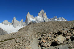 Mount Fitz Roy stock photo