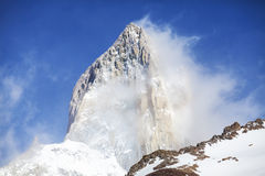 Mount Fitz Roy, Patagonia, Argentina Royalty Free Stock Images