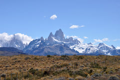 Mount Fitz Roy in Patagonia, Argentina Royalty Free Stock Photos