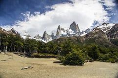 Mount Fitz Roy, Patagonia, Argentina Royalty Free Stock Image