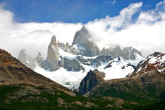Mount fitz roy in patagonia Chile Stock Photography