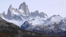 Mount Fitz Roy in Patagonia Stock Images