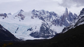Mount Fitz Roy in Patagonia Royalty Free Stock Photography
