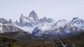Mount Fitz Roy in Patagonia Royalty Free Stock Image