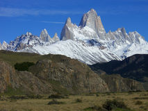 Mount Fitzroy El Chalten Royalty Free Stock Photography