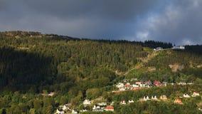 Mount Floyen Royalty Free Stock Image