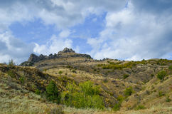 Mount2. At the foot of mountain in the Crimea, Ukraine Royalty Free Stock Photo