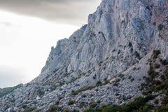 Mount `Foros` in Crimea. Mount `Foros`. The south coast of Crimea royalty free stock photos