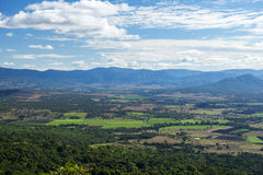 Mount French lookout Royalty Free Stock Photo