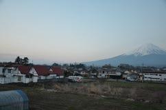 Mount Fuji Япония стоковое фото rf
