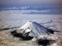 Mount Fuji. Japan. Winter view.  is 100Km west of Tokyo Stock Photography