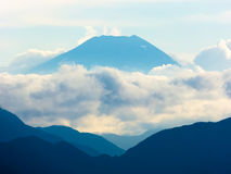 Mount Fuji Royaltyfri Bild