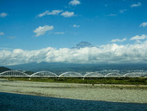 Mount Fuji Royaltyfria Foton