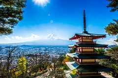 Mount Fuji Royalty Free Stock Image