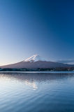 Mount Fuji. In the morning Stock Image