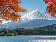 Mount Fuji in Autumn Color, Japan royalty free stock photos