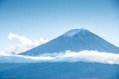 Mount Fuji with beautiful cloud royalty free stock image