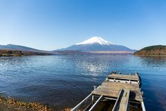 Mount Fuji. Beautiful scenery landscape at outdoor stock photo