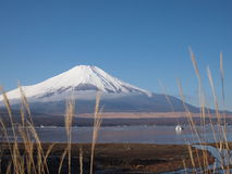 Mount Fuji and blue-sky Royalty Free Stock Photo