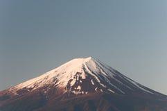 Mount Fuji with Clear sky at Kawakuchigo lake. Long exposure. Stable Lake Kawakuchigo Royalty Free Stock Images